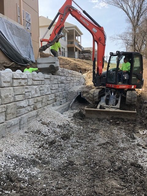 Kohler Outdoor will made retaining walls for your landscape.