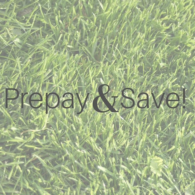 Prepay & Save on Turf Treatment