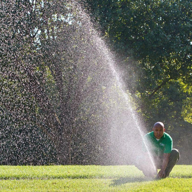 Irrigation System Install June before extreme heat Kohler outdoor