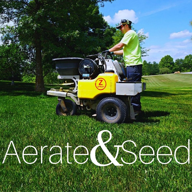 Aeratea Lawn Services By Kohler Outdoor Include Aeration and Seeding
