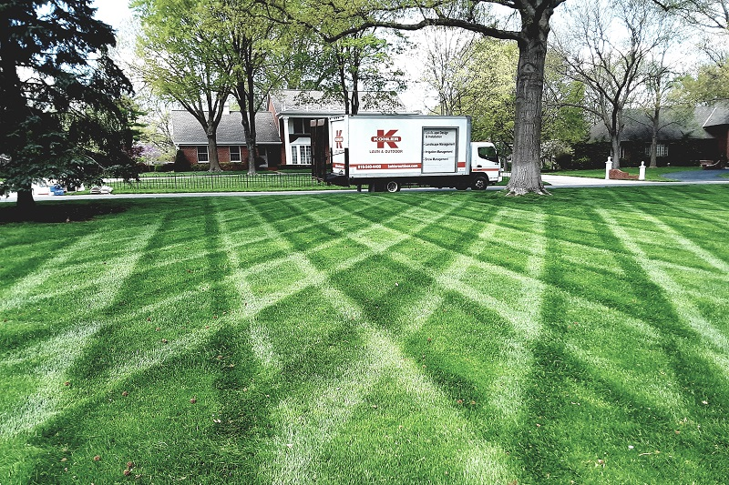 Turf Treatment With Kohler Outdoor Keeps Your Yard Lush And Healthy