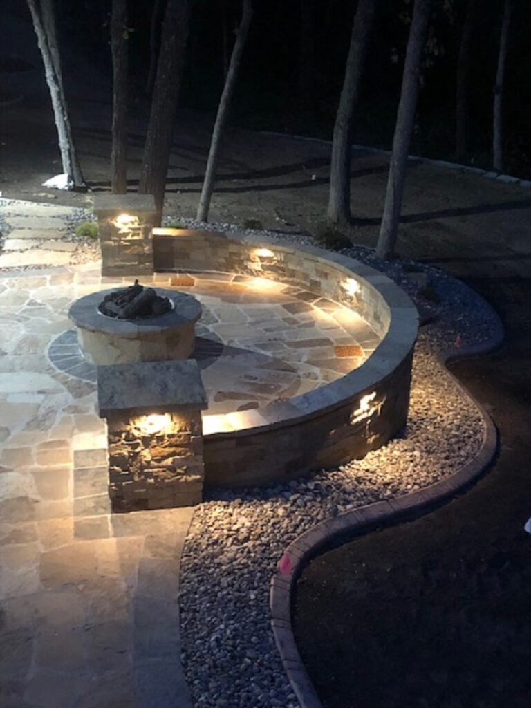 Landscaping with Kohler Lawn and Outdoor includes fire pits and more.