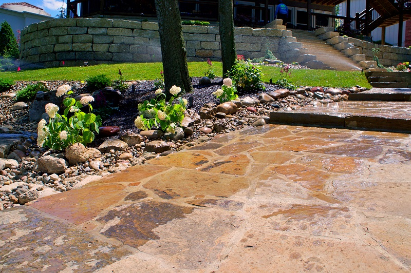 Pavers & Flagstone Installation Kohler Outdoors Will Freshen Your Home Curb Appeal