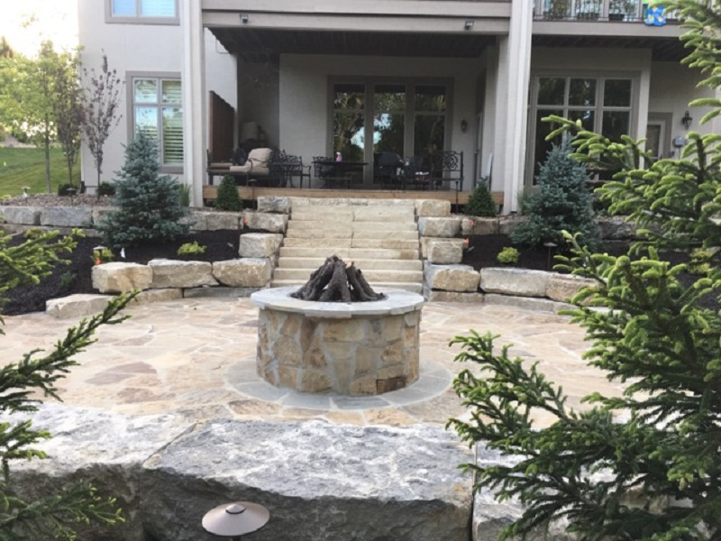 A Fire Pit Enhances Your Outdoor Living Space Throughout The Year