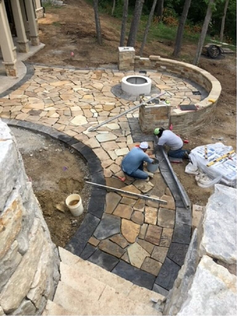 Endless Design Options Are Available For Your Paver and Flagstone Project