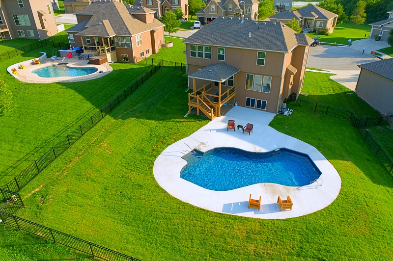 It's Swimming Pool Installation time!  It's not too late to enjoy swimming in your own backyard this summer!