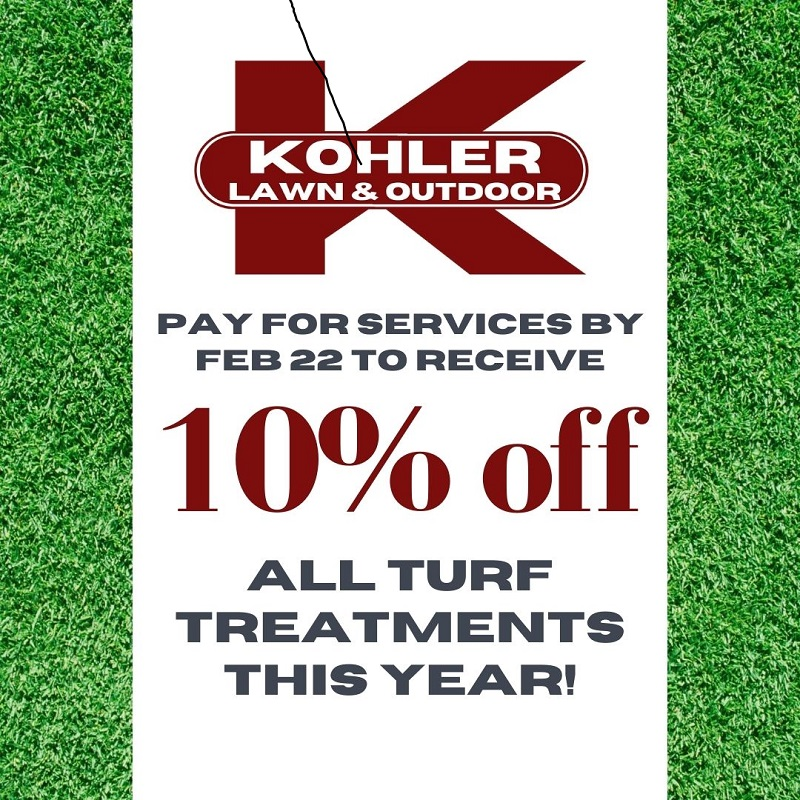Our Turf Treatment Program Will Get Your Yard Looking Green And Healthy!