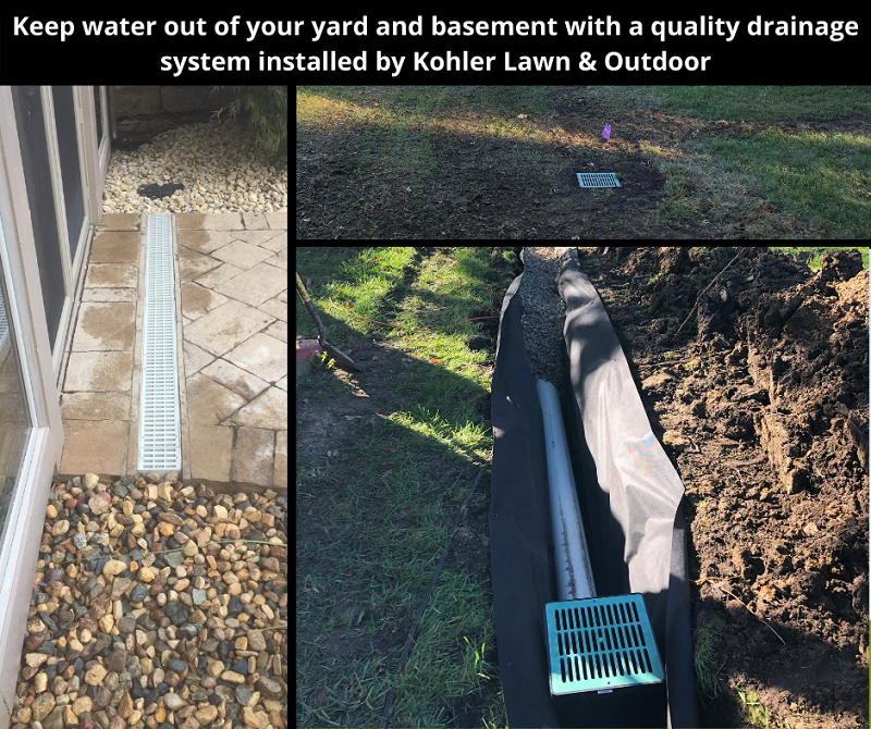 Landscaping Is A Solution For Your Lawn Drainage Problems