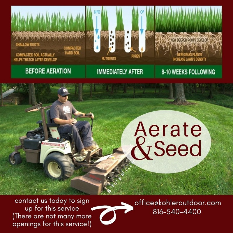 Our Turf Treatment Program Recommend You Only Re-Seed In The Fall To Give Your Spring New Growth And Health